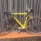 自転車 ヨーロッパのBOTTECCHIA 黄色 無料でお譲りします