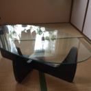 ガラステーブル ローテーブル 座卓