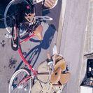 子供乗せ自転車(前と後ろ 子供2人)