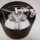 【美品】ニトリペンダント照明フルセット(シェード&ソケット&LED)