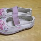 かわいい刺繍の上履き 上靴 サイズ17.0 幼稚園 保育園など入園に