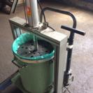 手動式ゴミ圧縮機/45リットルゴミ袋対応