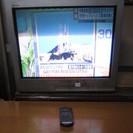デジタル放送受信コンバータ付きアナログテレビ