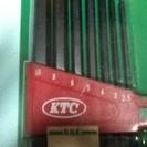 ボールポイントL型ロング六角棒レンチセット 1セット(7本組)  ...