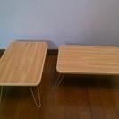 ミニテーブル(脚 折畳み)