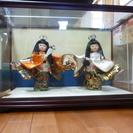 大きめの 日本人形  『花かご』
