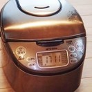 三菱IH炊飯器 NJ-10SE6 取説あり 5.5合炊き