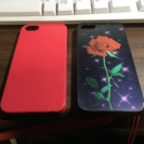 iPhone5・5S・5SE用のケース2つ
