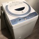♪010457 大容量!洗濯機 乾燥機能付き!