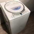 ♪010456 大容量!洗濯機 乾燥機能付き!