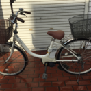 電動自転車 26インチ ナショナル製 予備バッテリー付