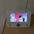 【超美品 交渉可】フルセグ ポータブル 防水液晶テレビ 7インチ ...