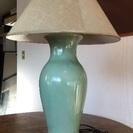 セラドン焼のランプスタンド