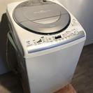 ♪010418 大容量!全自動洗濯機 東芝 AW-80VE