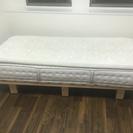無料 ニトリN-sleepマットレスとベッドのセット