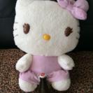 可愛い💗天使の羽キティちゃんぬいぐるみメガジャンボ