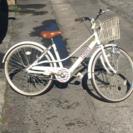 子供用24自転車白色無料良く読んで