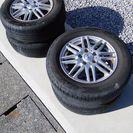 205/65/R15 ノーマルタイヤ+アルミホイール15インチ