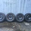 ボルボ用スタットレスタイヤ 15インチ 5穴 PCD108
