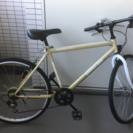 オマケあり クロスバイク シマノ6段変速