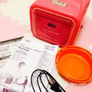 ピンクの炊飯器