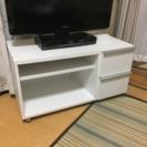 テレビボード 白色