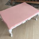 こたつテーブル 猫足 長方形