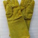 牛革製の耐熱 耐火手袋、欧州からの新品