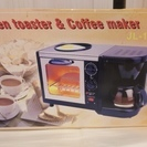 【値下げしました】オーブントースター & コーヒーメーカー