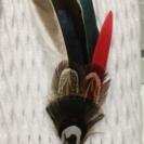 羽根ピン カモホロ