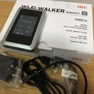 美品 HWD14 Wi-Fi WALKER WiMAX 2+ モバ...