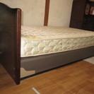 シーリー社製シングルベッド