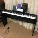 電子ピアノ ヤマハP-105 スタンド付