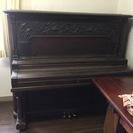 古いアンティークなピアノ ボロボロのジャンク品 無料で差し上げます。