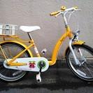 子供用自転車 18インチ 「VESPA KIDS」 イエロー