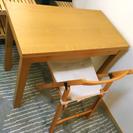 【取引完了】2人掛けダイニングテーブル 板橋区