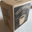 【未使用品】マジックマーカー&マグセット(お絵描きマグカップ)