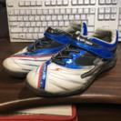 月星シューズ製23.0センチ「スーパースター」子供用運動靴(2〜3...