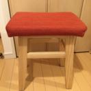 0円で譲ります!赤い椅子(1/29引き渡し)