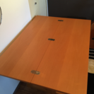 【お取引中】木製折りたたみテーブル