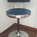 レトロなバーチェアー ハイチェアー 椅子 1脚 中古品