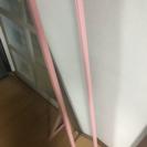 ピンクの姿見、全身鏡