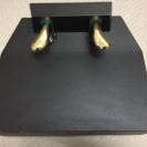 【お取引中】ピアノの補助ペダル付き足台