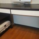 [交渉中]【IKEA】デスク & プリンターキャビネット