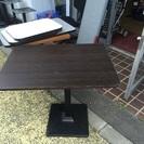 業務用テーブル焦げ茶色 1台