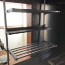 簡易キッチン調味料棚