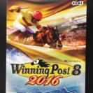 ウイニングポスト8 2016 Windows版 美品