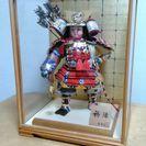中古 五月人形 幅41×奥行き32.5×高さ55