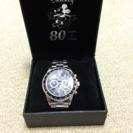 ミッキーマウス誕生80年記念腕時計