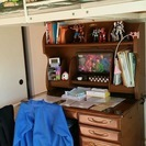 ロフトベッド と 子供用学習机